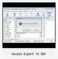Dbf To Xls Conventer access export to dbf