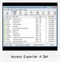 Export Csv To Dbf access exportar a dbf