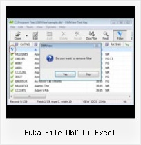 Read Dbf From Excel buka file dbf di excel