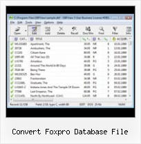 Dbf Openen In Excel convert foxpro database file