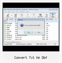 Dbf Viewer Xp convert txt ke dbf