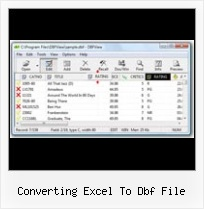 Convert Csv Files To Dbf converting excel to dbf file