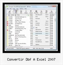 How To Convert Txt To Dbf convertir dbf a excel 2007