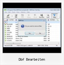How To Export Dbf dbf bearbeiten