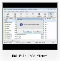 Free Dbf Export To Xls dbf file info viewer
