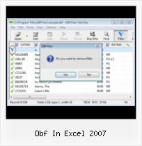 Covert Xsl To Dbf Terbaru dbf in excel 2007