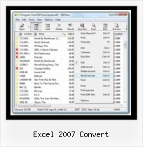 How To Opena Dbf File excel 2007 convert