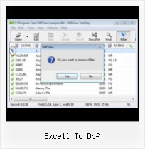 Excel Export Nach Dbf excell to dbf