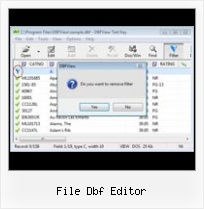 Convert Dbf Files To Text file dbf editor