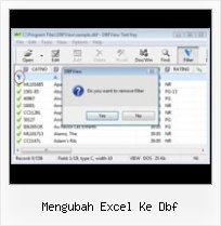 Dbf Editor And Viewer Software mengubah excel ke dbf