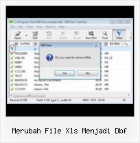 Convert Dbf Into Excell merubah file xls menjadi dbf