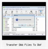 Excel To Dbf File Transformation transfer dbb files to dbf