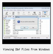 Dbf Converter To Excel viewing dbf files from windows