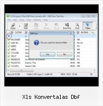 Excel 2007 Extraction Dbf xls konvertalas dbf