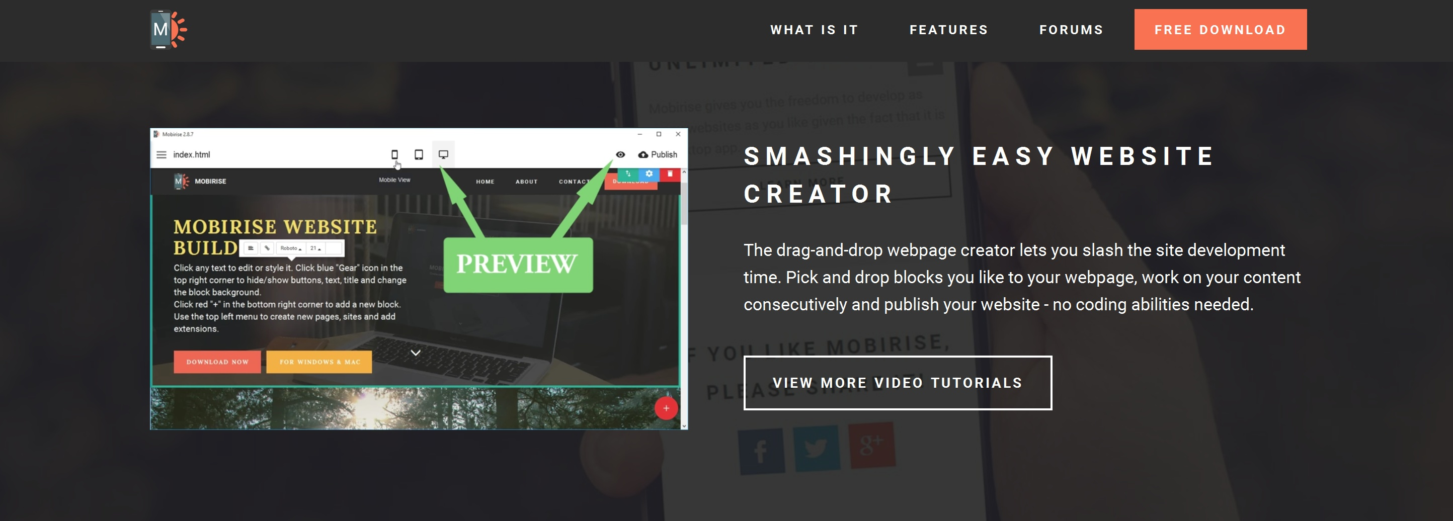 Quick Drag and Drop Web Page  Creator Software