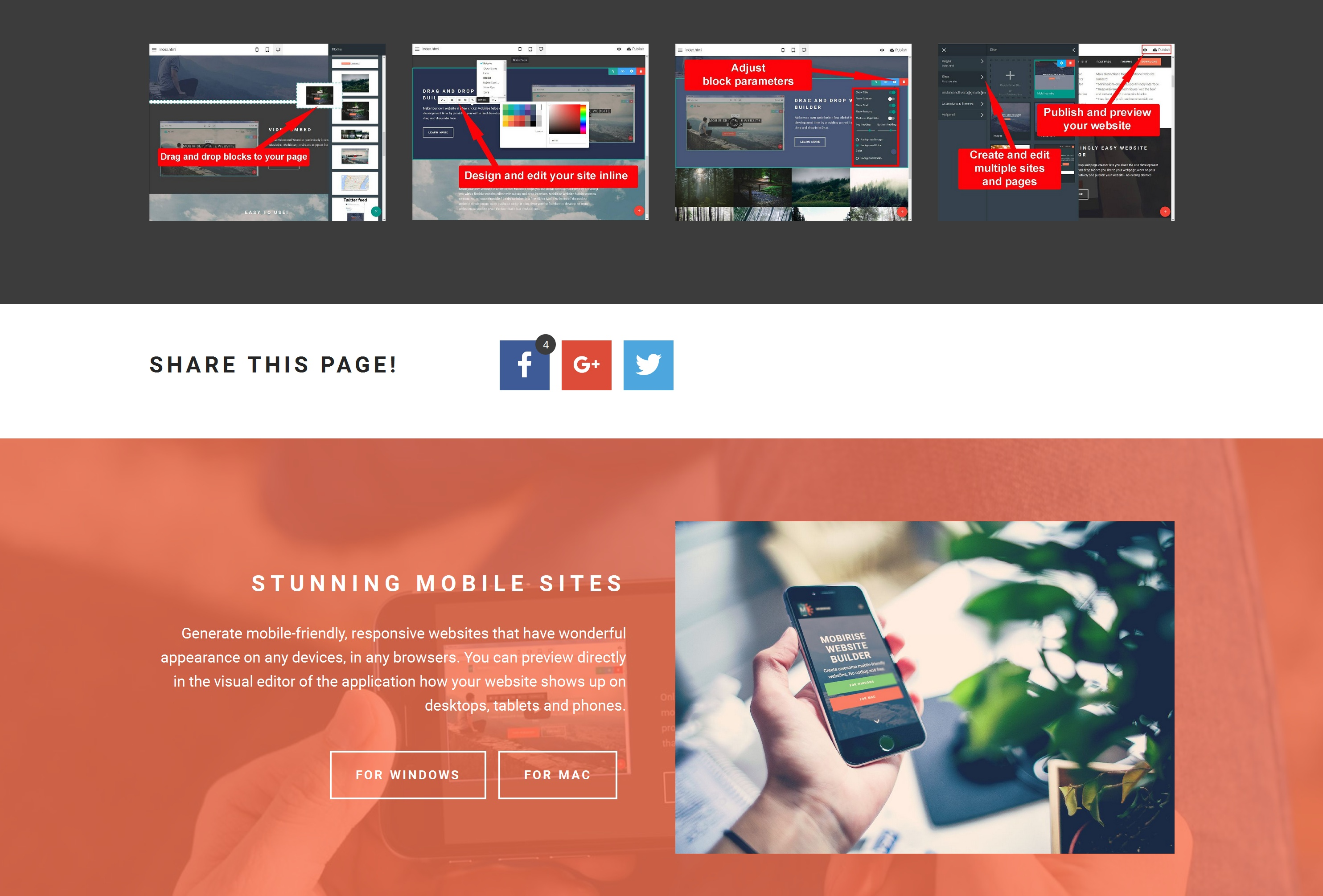 Quick Mobile Web Page  Builder Review