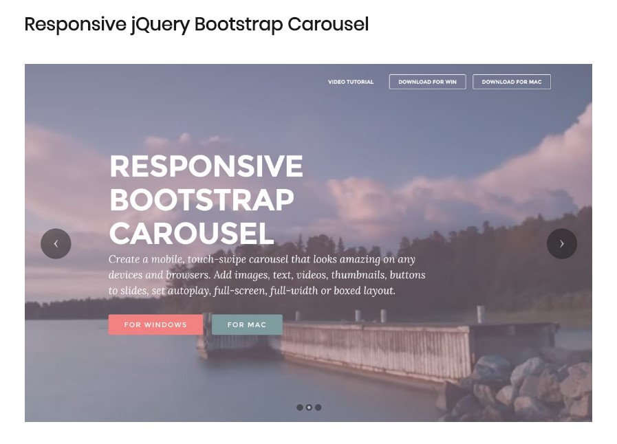 Bootstrap Carousel Autoplay